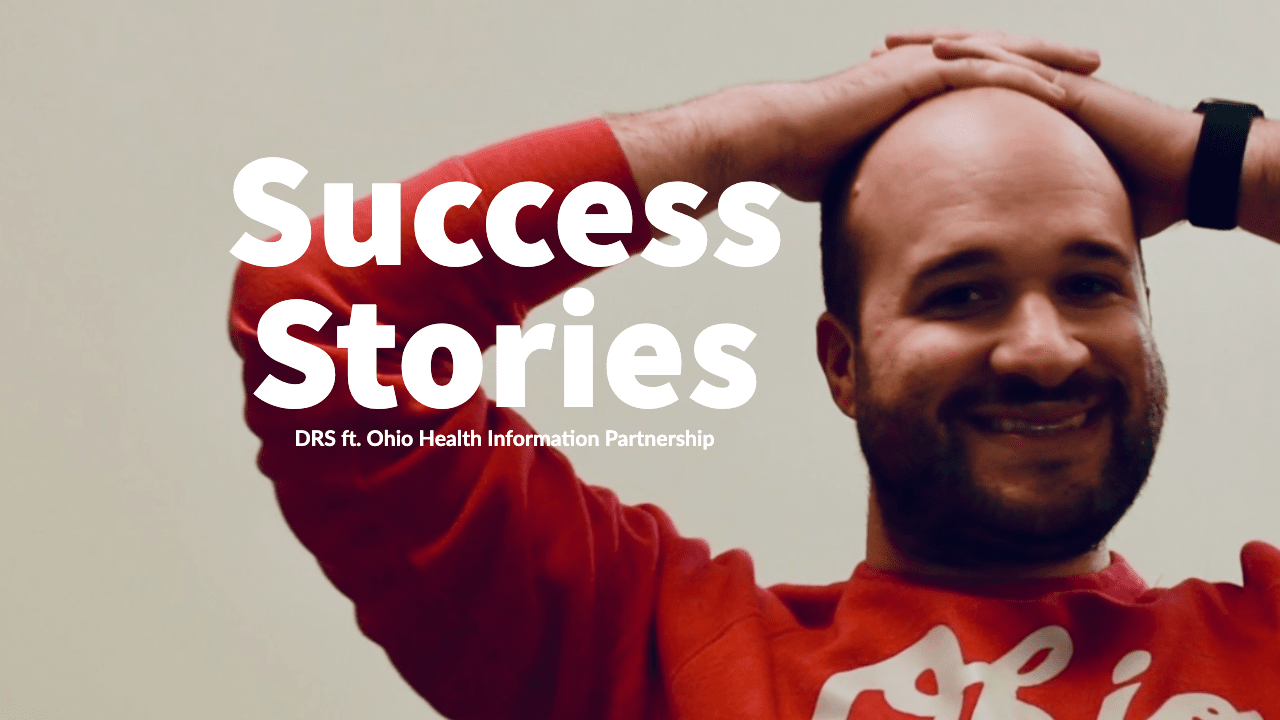 Post success stories Dark Rhino Security and Ohio Health Information Partnership with Henry Vynalek smiling background