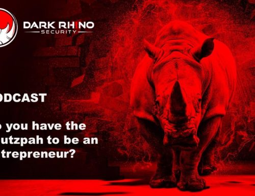 Do you have the chutzpah to be an entrepreneur?