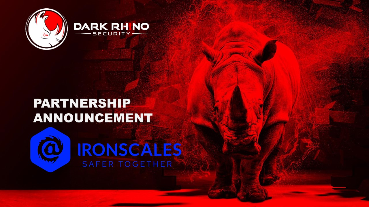 Dark Rhino Security partnership with Ironscales