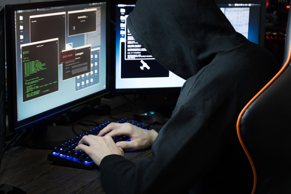 a cybersecurity criminal